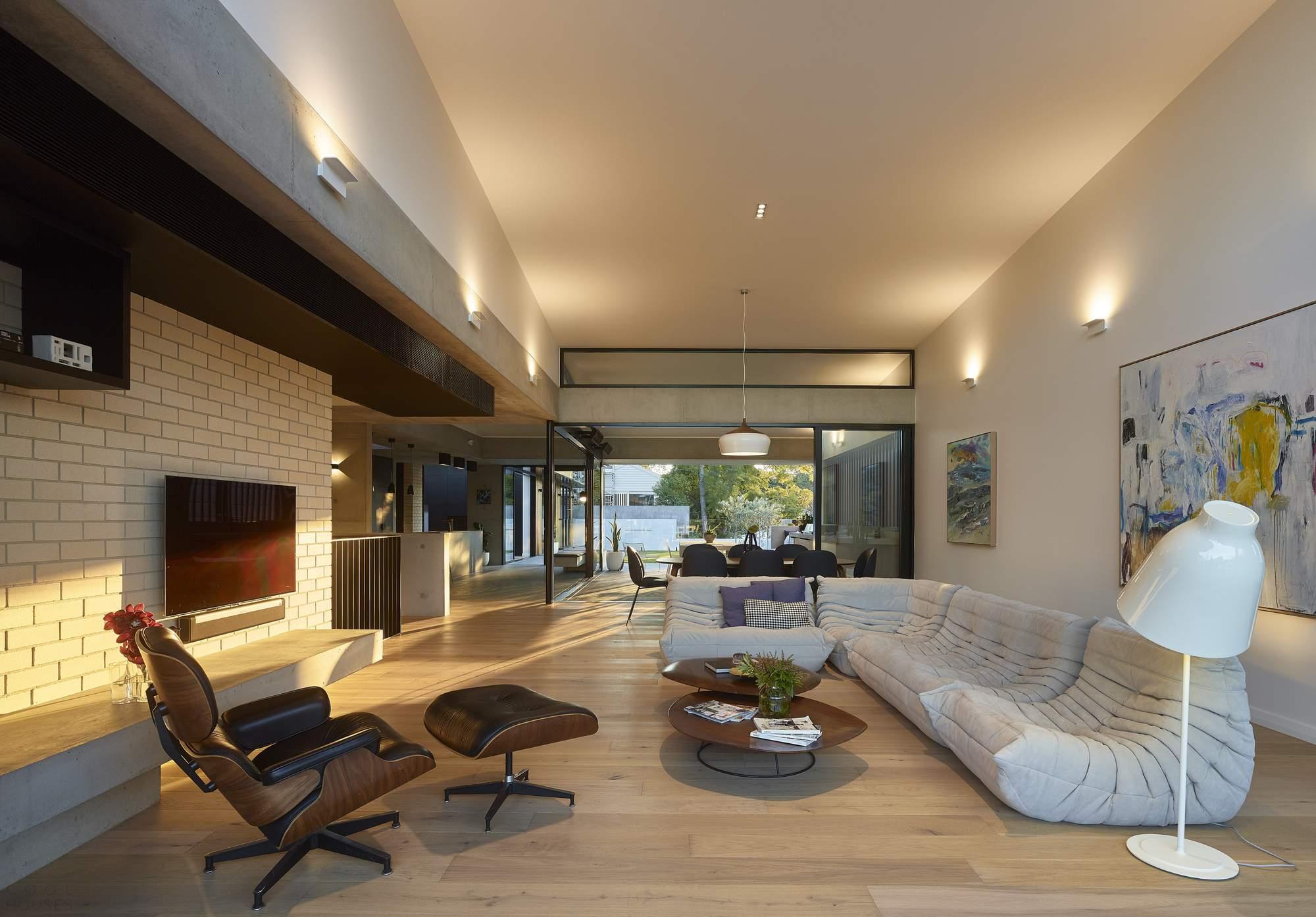 Семейный дом с двумя фасадами, Австралия