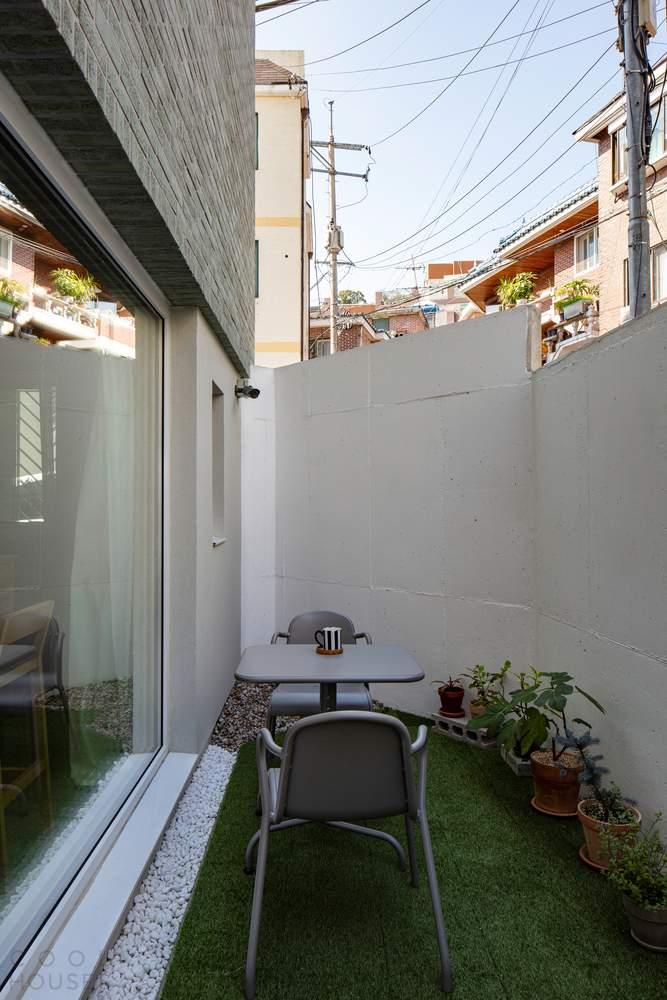 Дом для молодой пары, Южная Корея