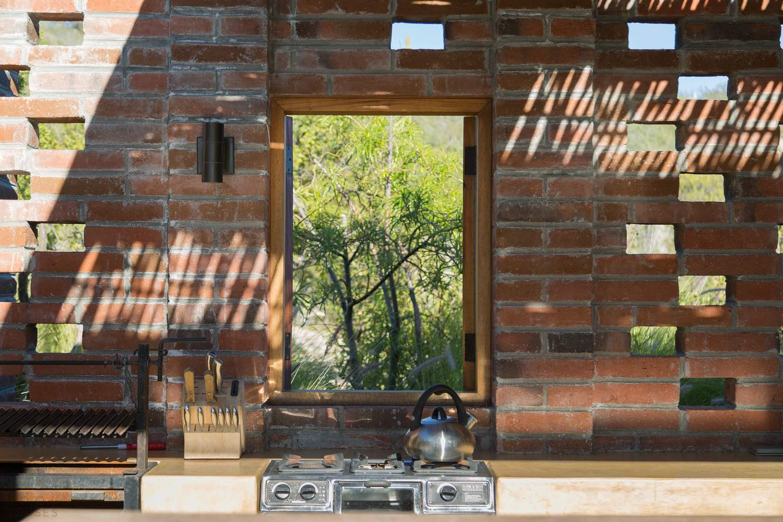 Дом с пассивным солнечным дизайном, Мексика