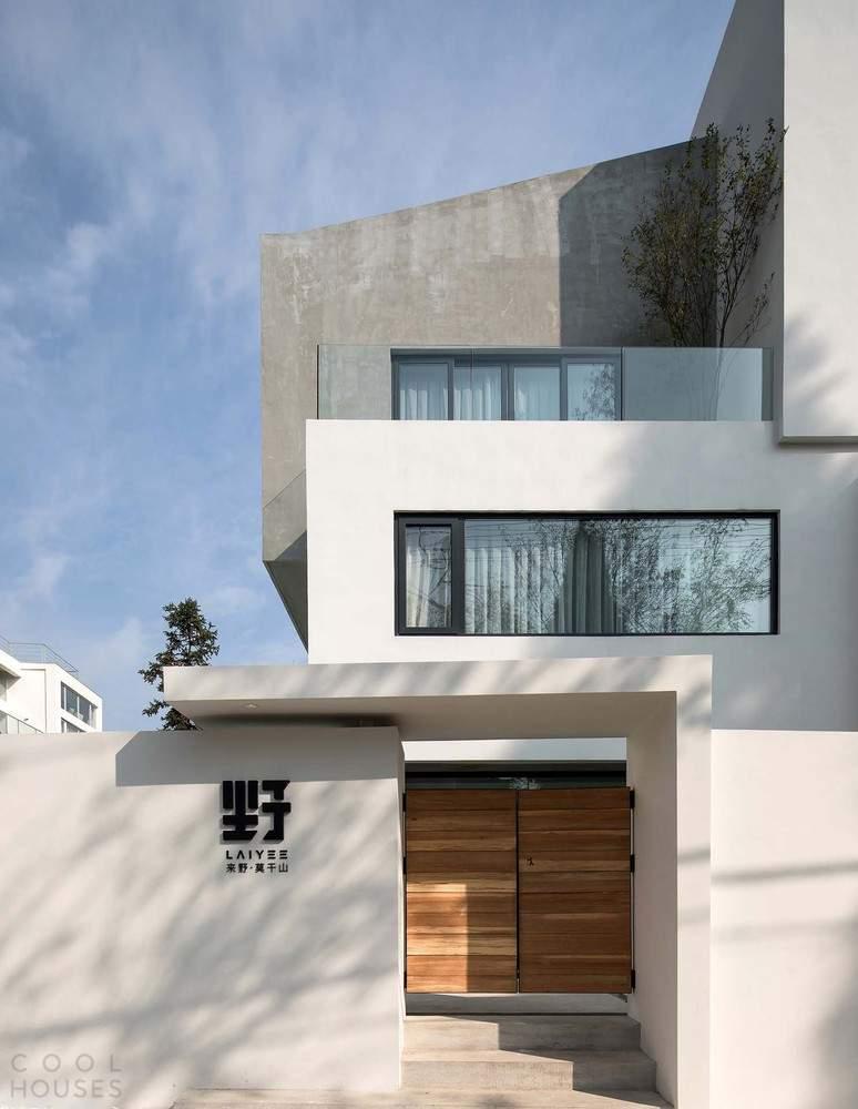 Гостевой дом, вдохновленный архитектурными принципами Ле Корбюзье, Китай