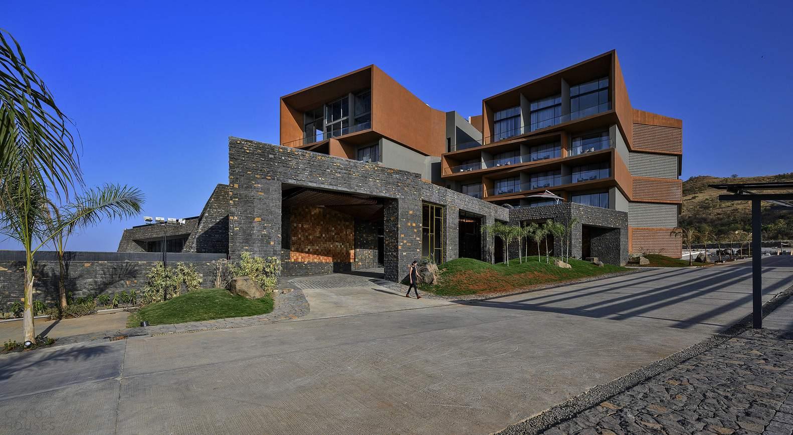 Новый отель «Ария» с современным стильным дизайном, Индия