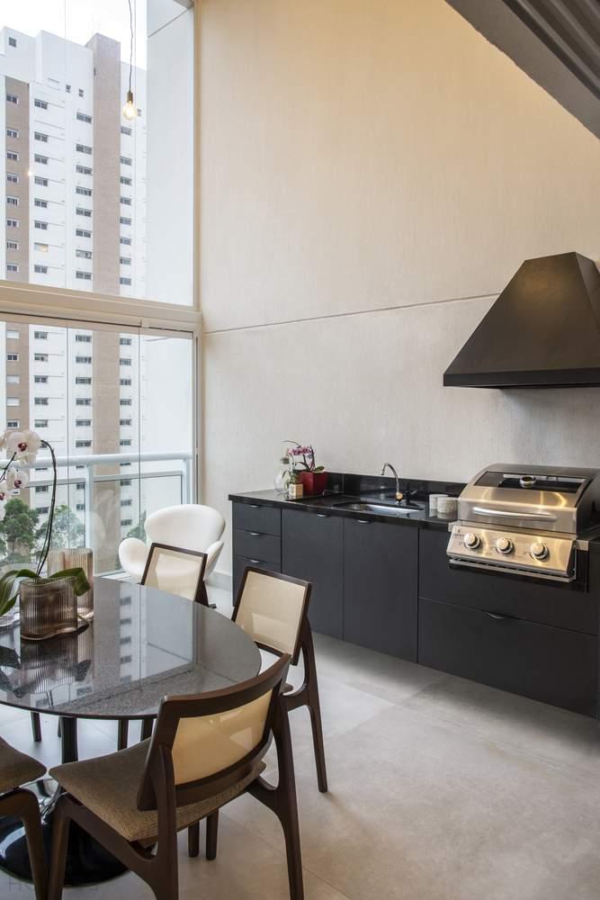 Реконструкция квартиры для молодой пары, Бразилия