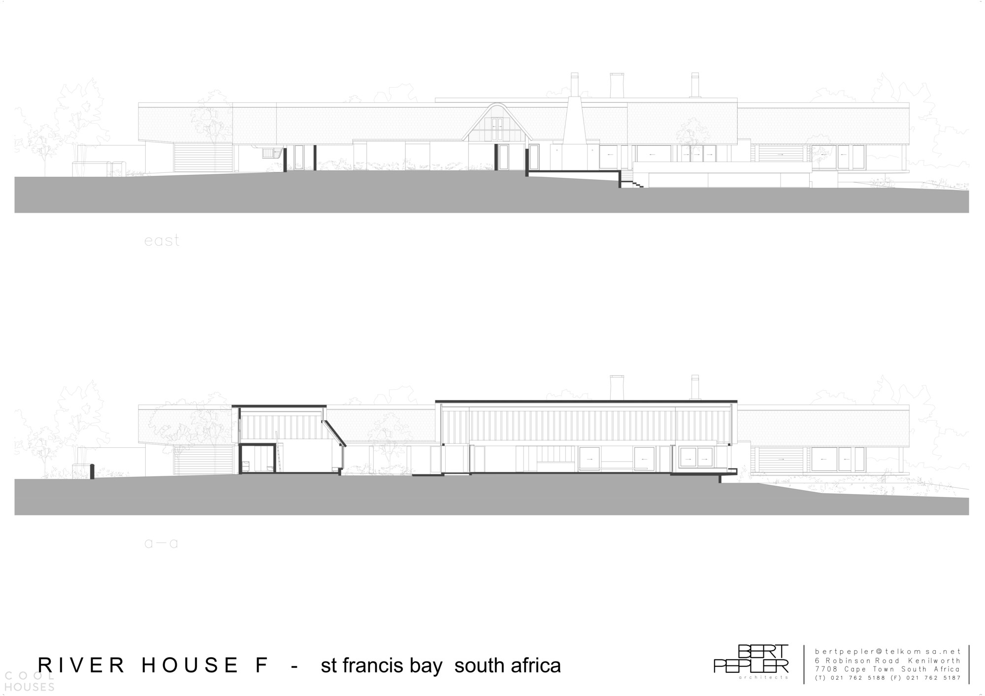 Современное бунгало с соломенной крышей и тесной связью с экзотикой африканской деревни