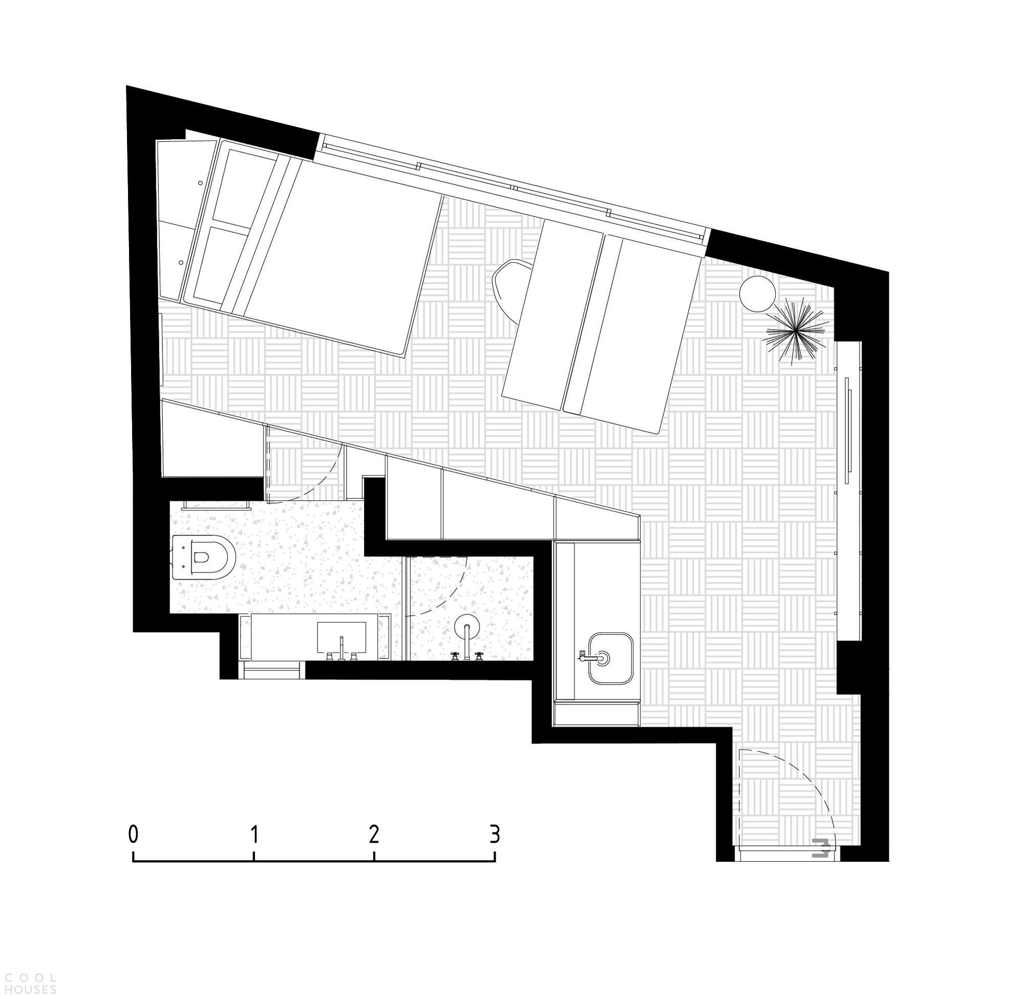 Превращение гостиничного номера в компактную квартиру