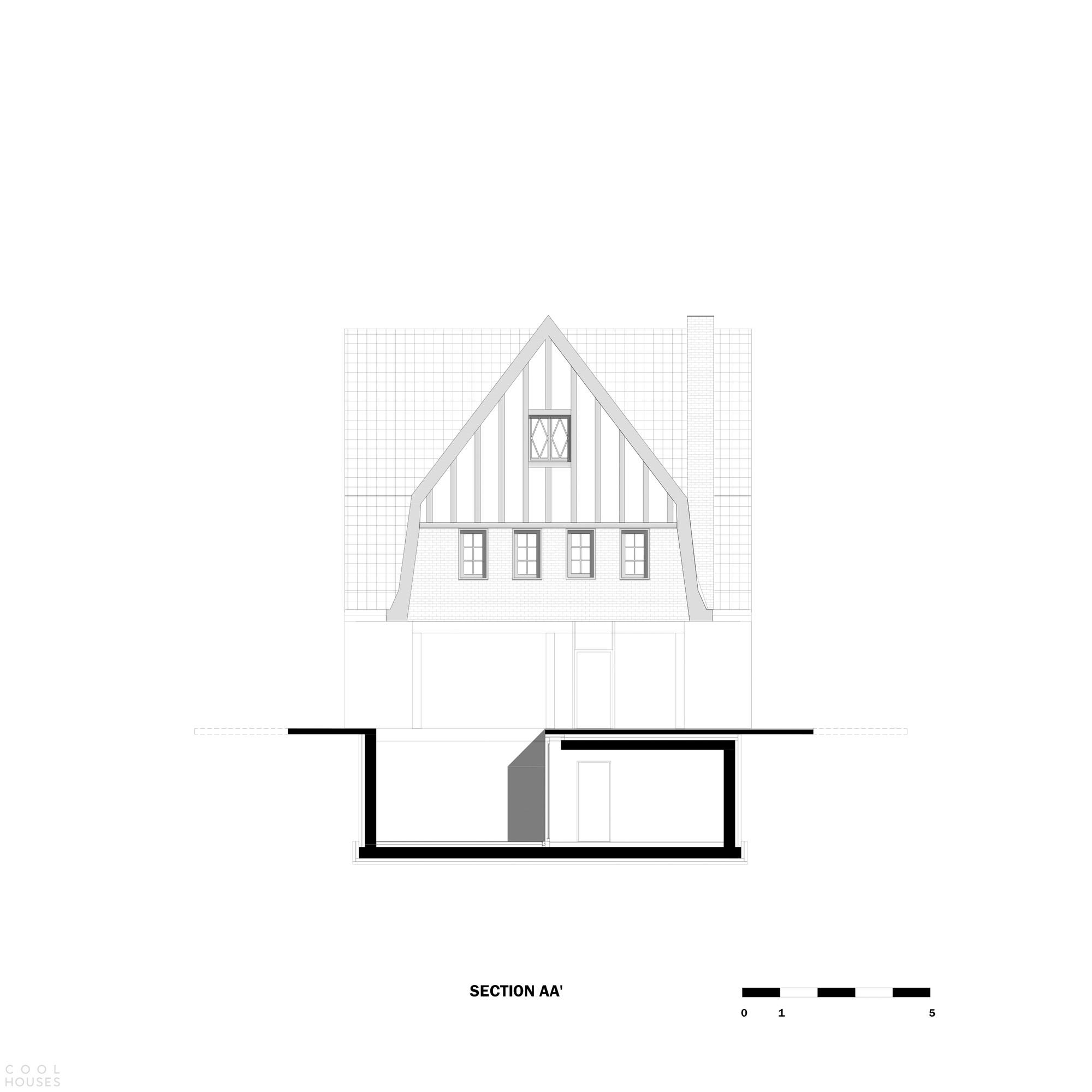 Обновление старинной бельгийской виллы «Тряпичный кукольный дом»