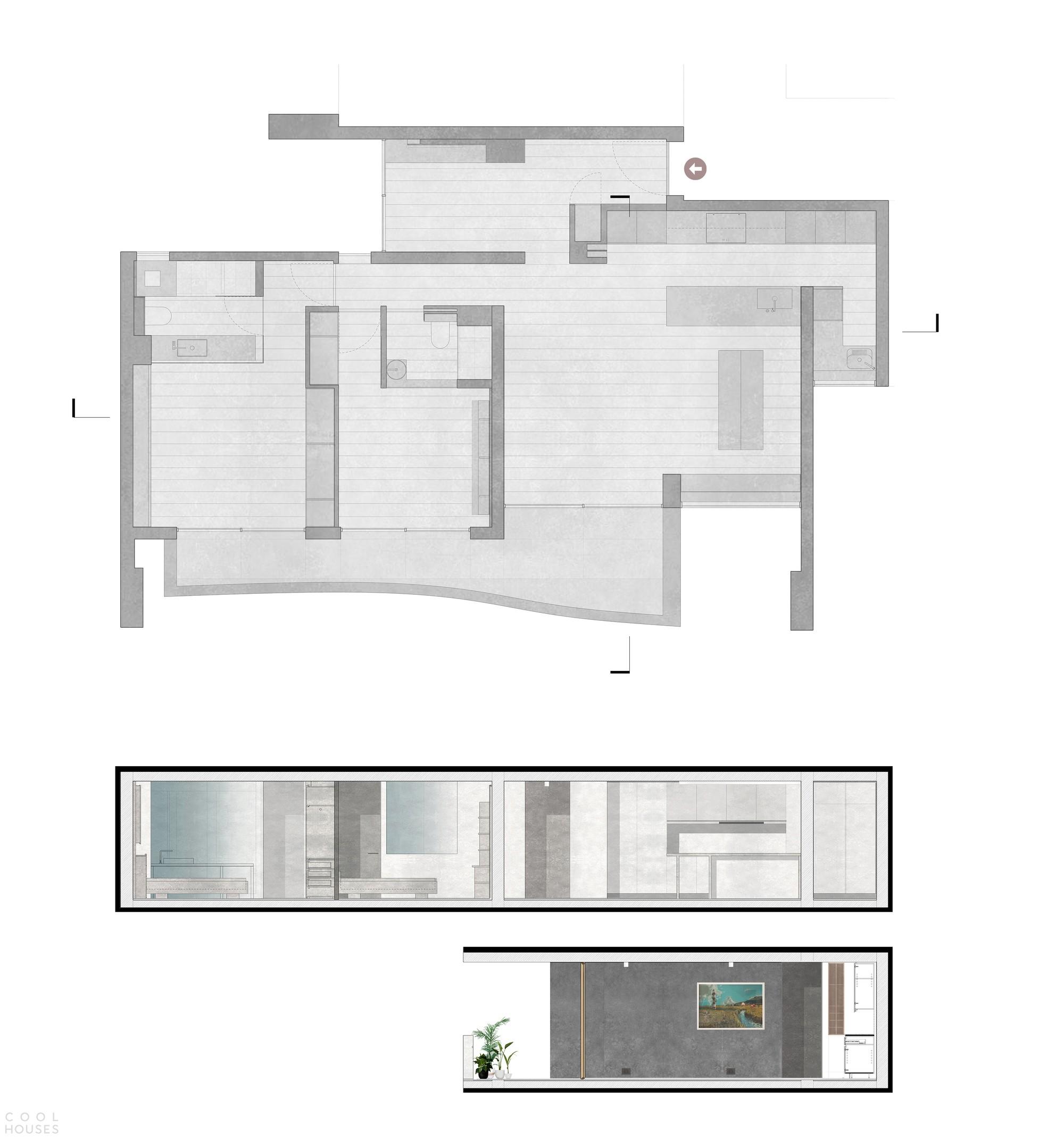Минималистичная резиденция с эксклюзивной атмосферой