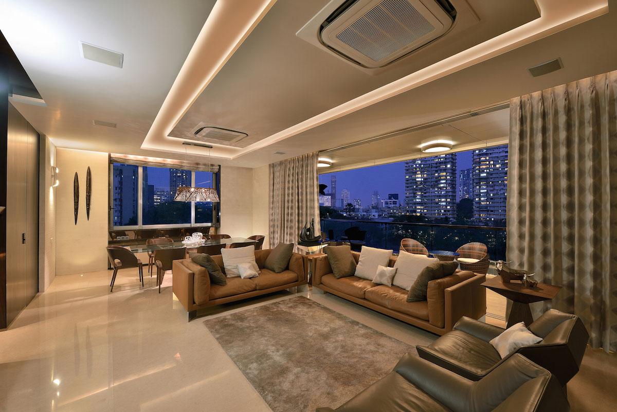 Двухэтажная квартира в Мумбаи