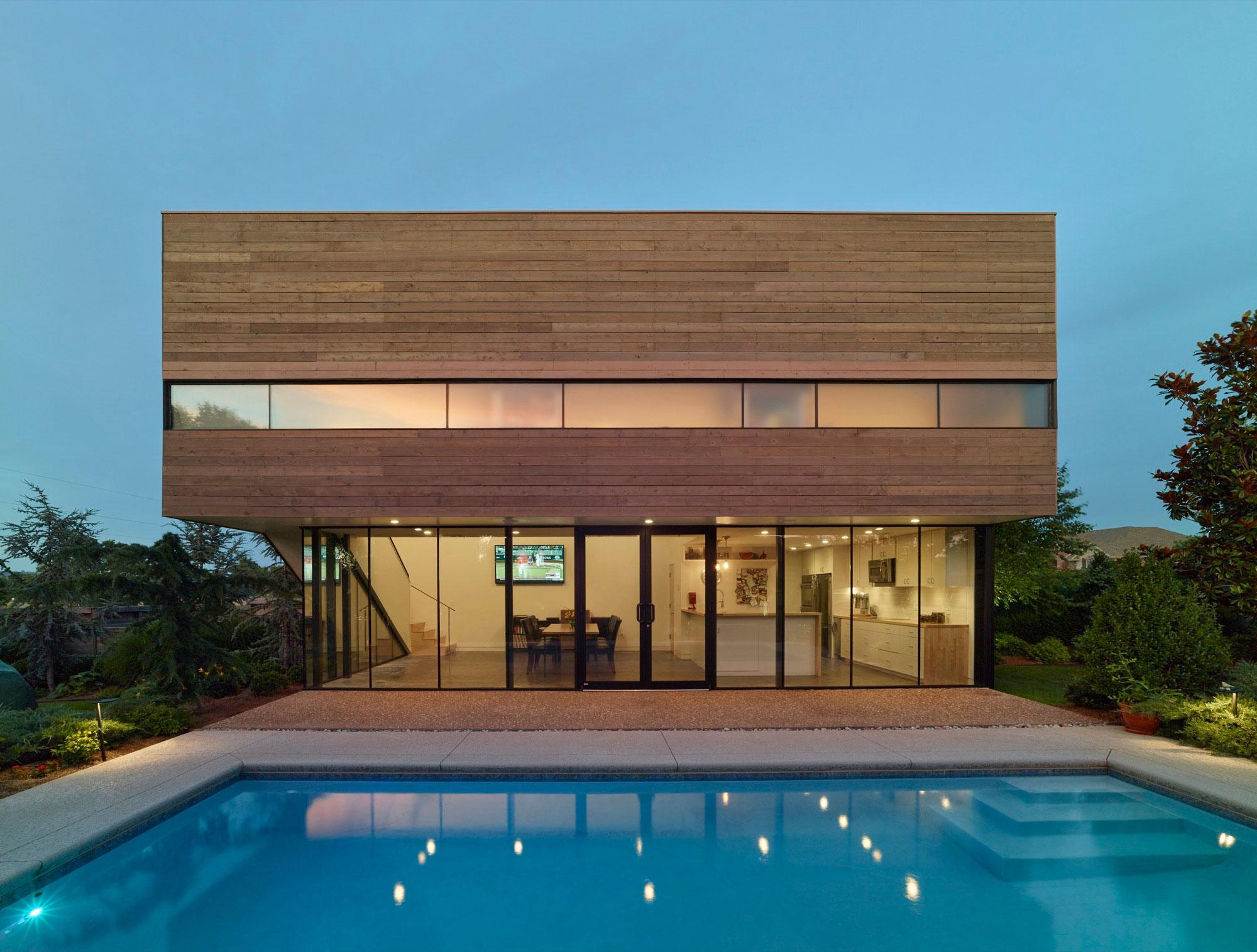 Гостевой дом у бассейна в Аризоне, США