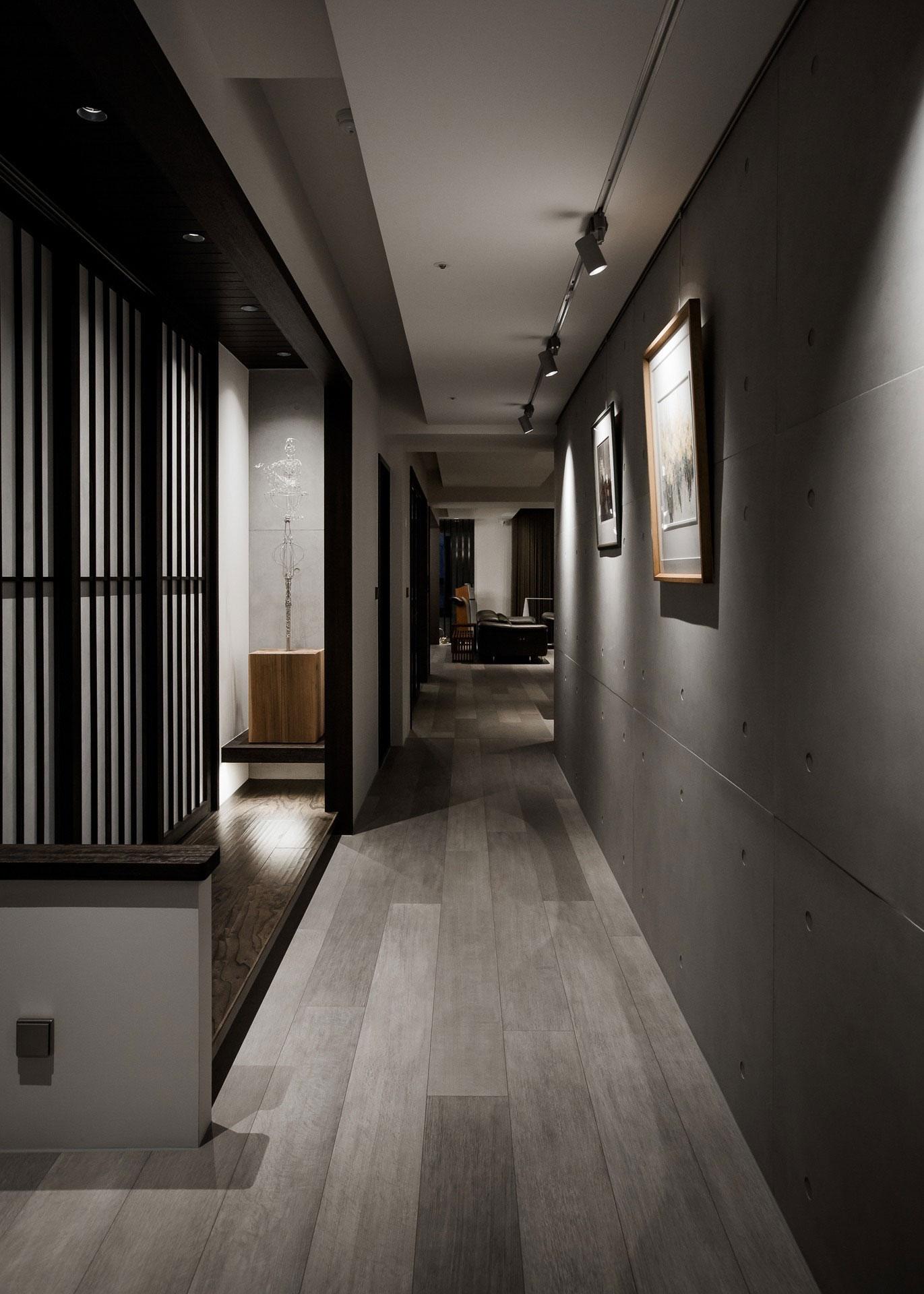 Квартира с мужским интерьером в Тайване