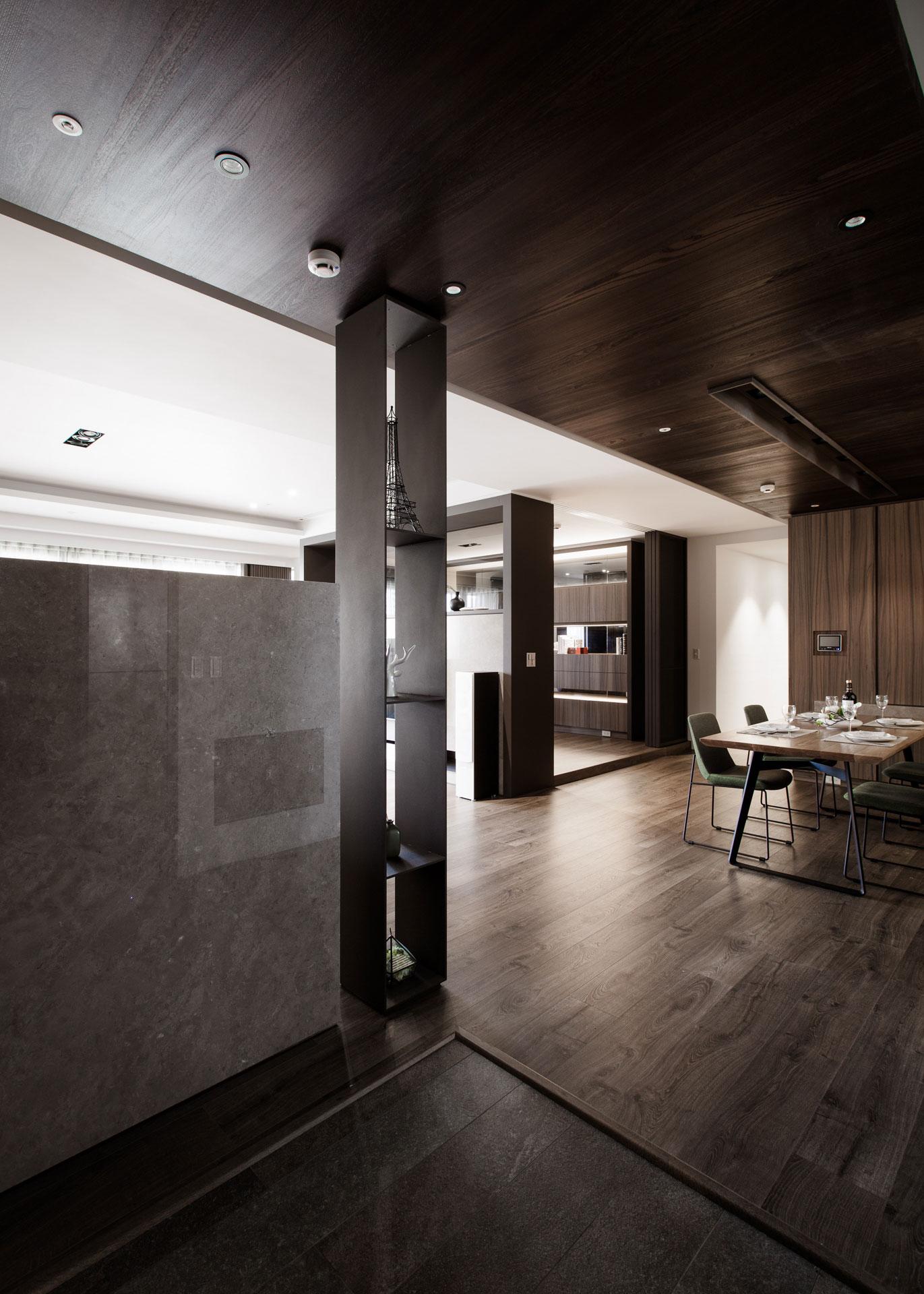 Современные апартаменты в стиле минимализма в Тайване