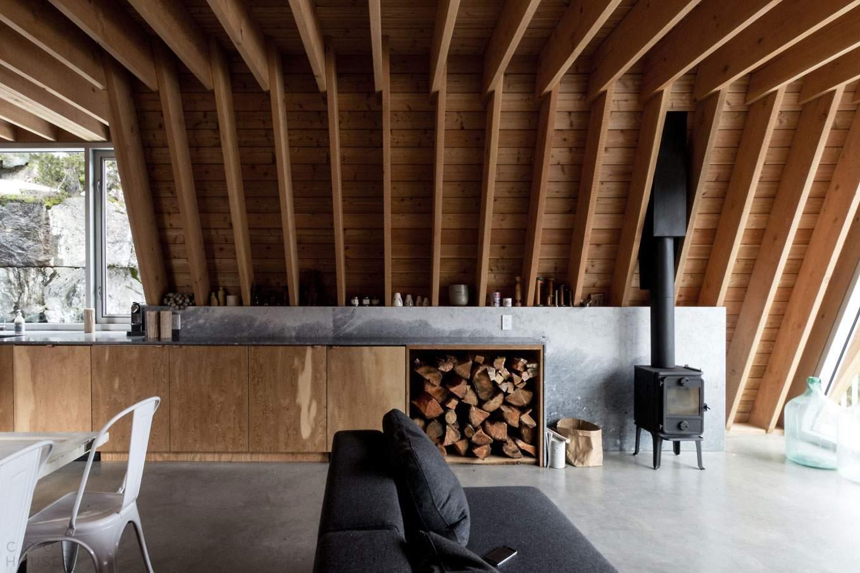 Горный дом для семьи сноубордистов в Канаде