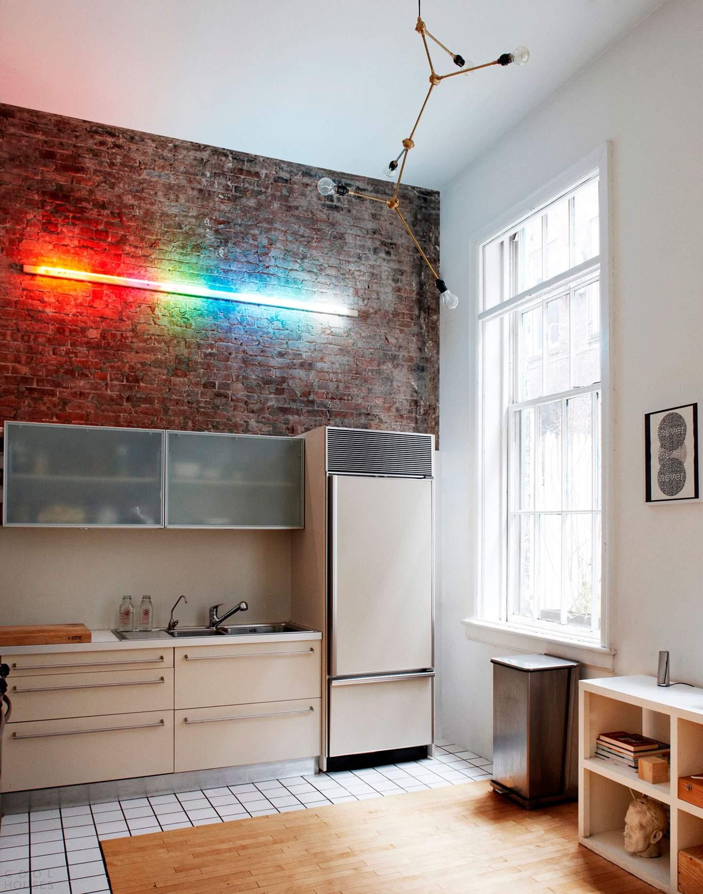 Классический лофт в Манхэттене, США