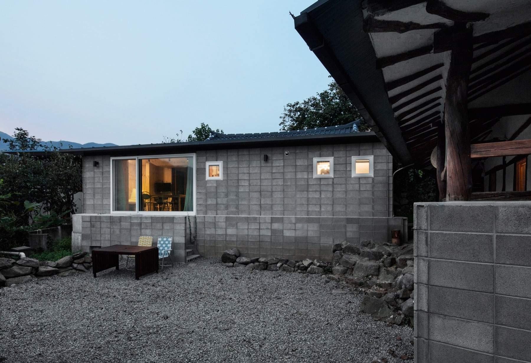 Красивый дом для отдыха в Южной Корее