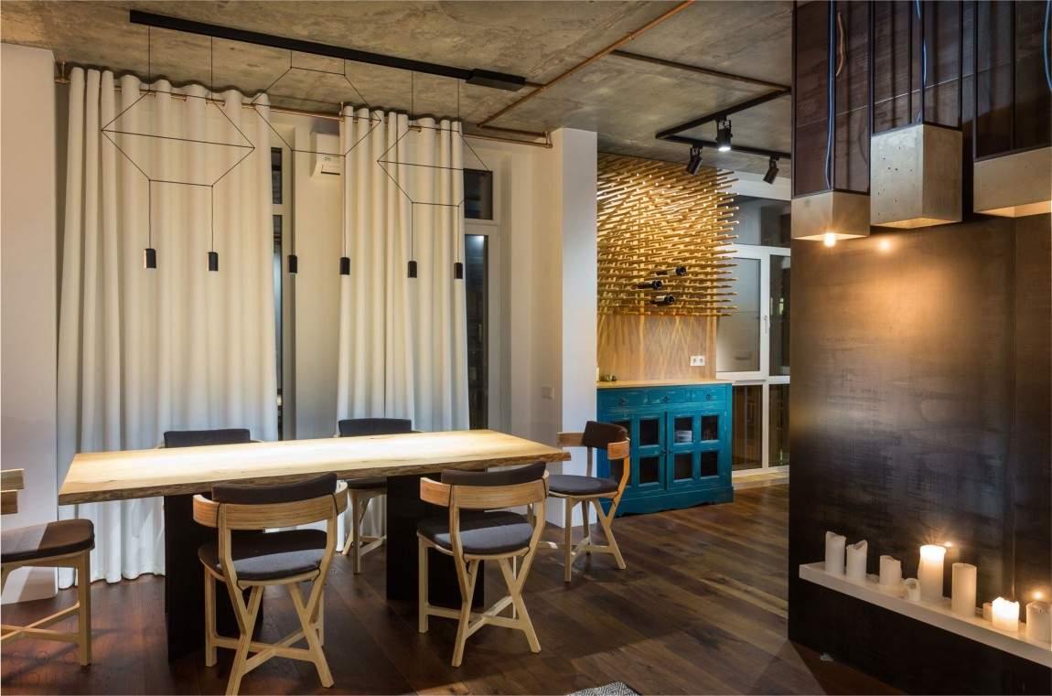 Квартира-студия в стиле лофт в Киеве, Украина