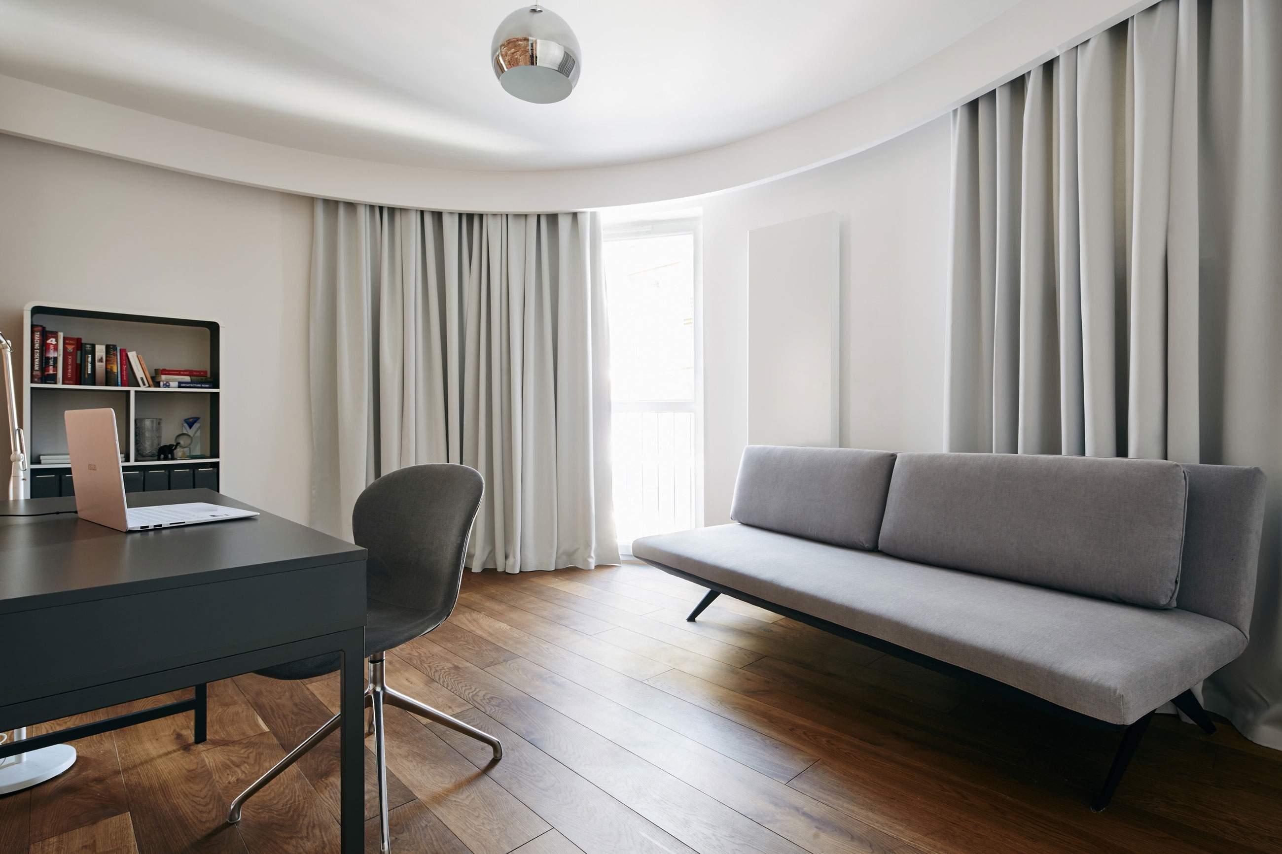 Современная квартира для молодой девушки в Кракове, Польша