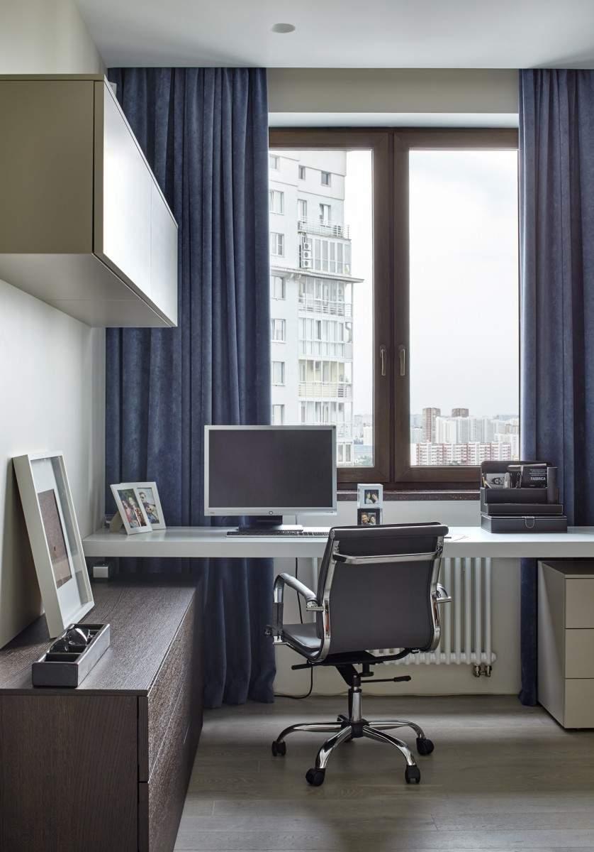 Стильная квартира с видом на центр Москвы, Россия