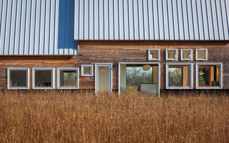 Загородный дом вблизи озера Мичиган, США