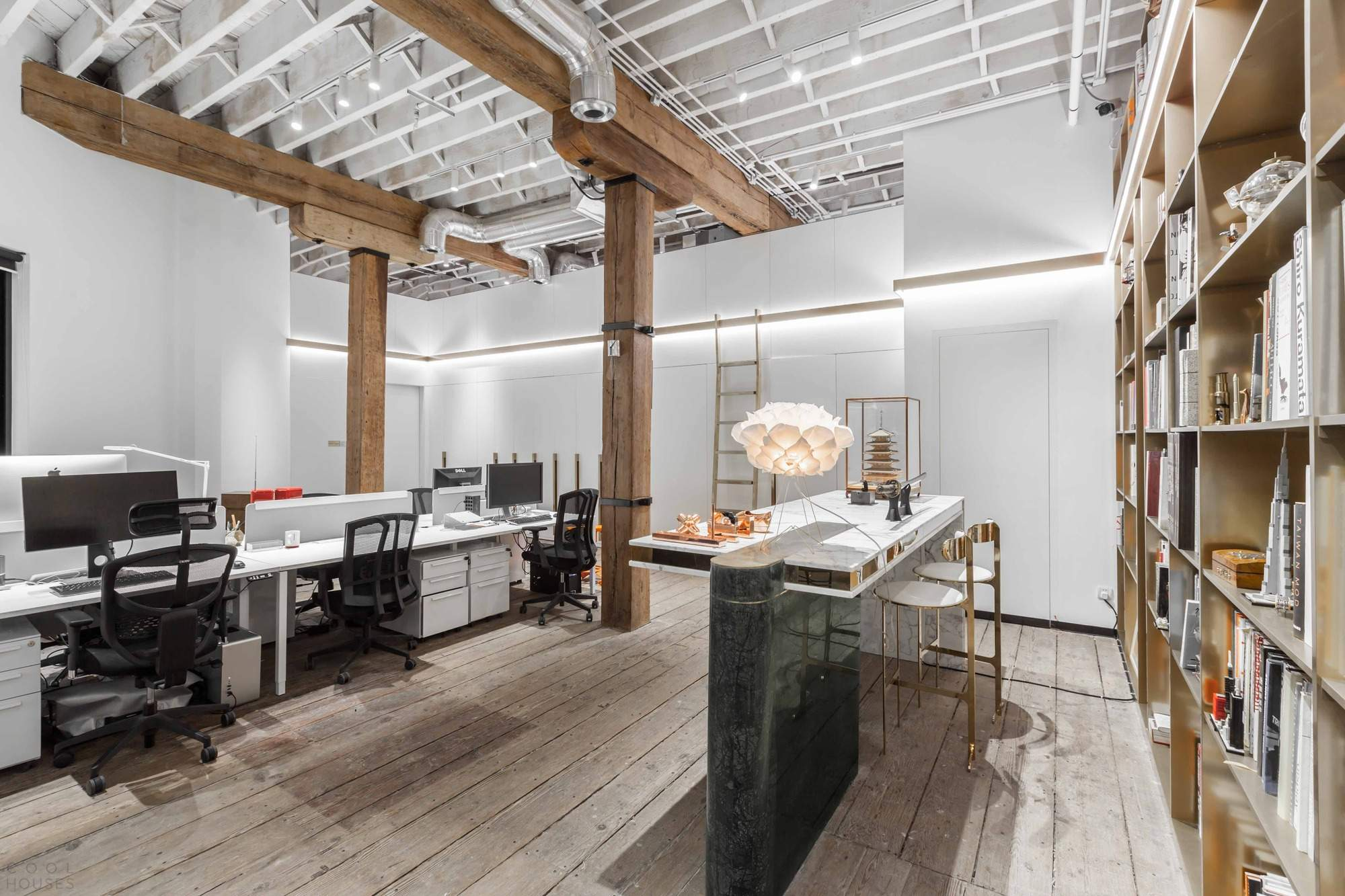 Новый офис дизайн-бюро Nong Studio в Шанхае, Китай