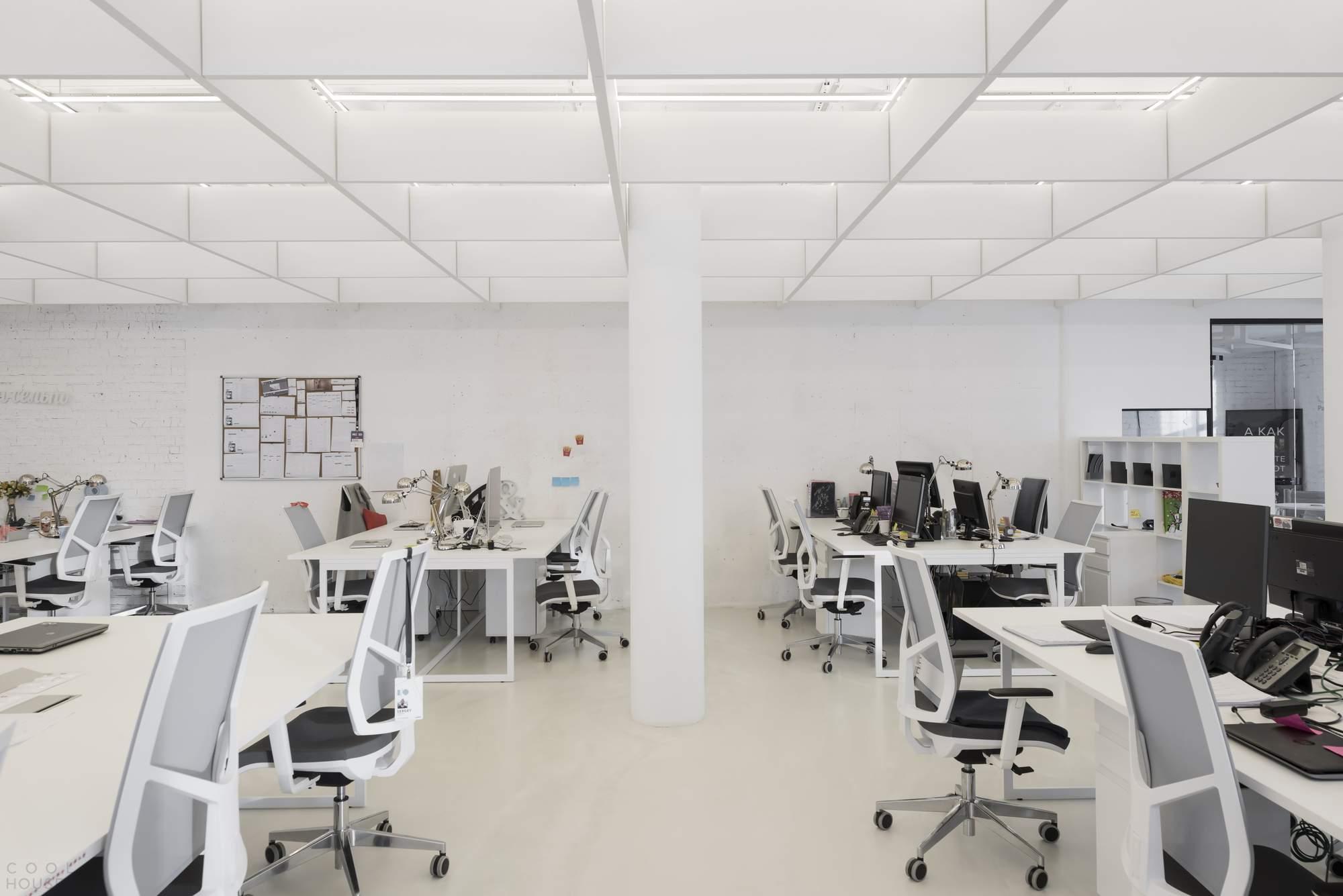 Новый офис компании RAMBLER & Co в Москве, Россия