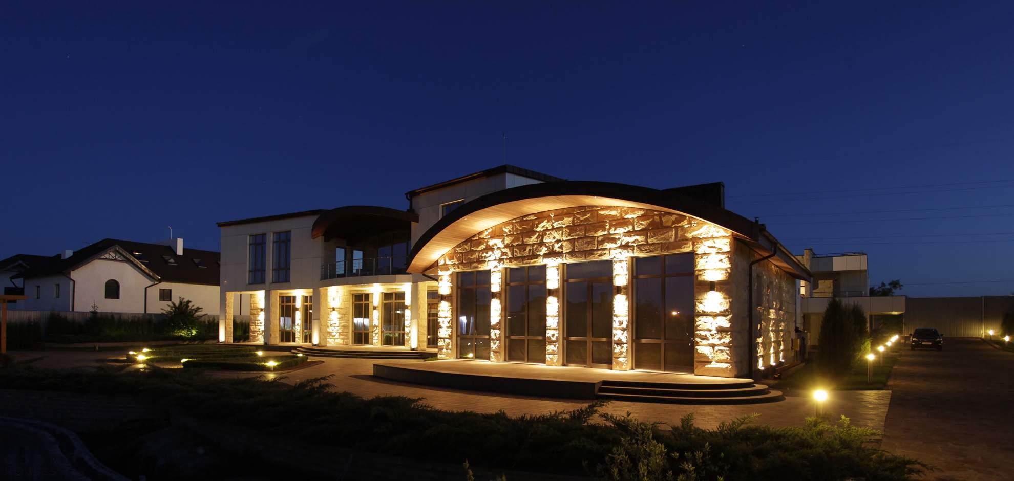 Роскошный особняк Light House от OM- architecture, Украина