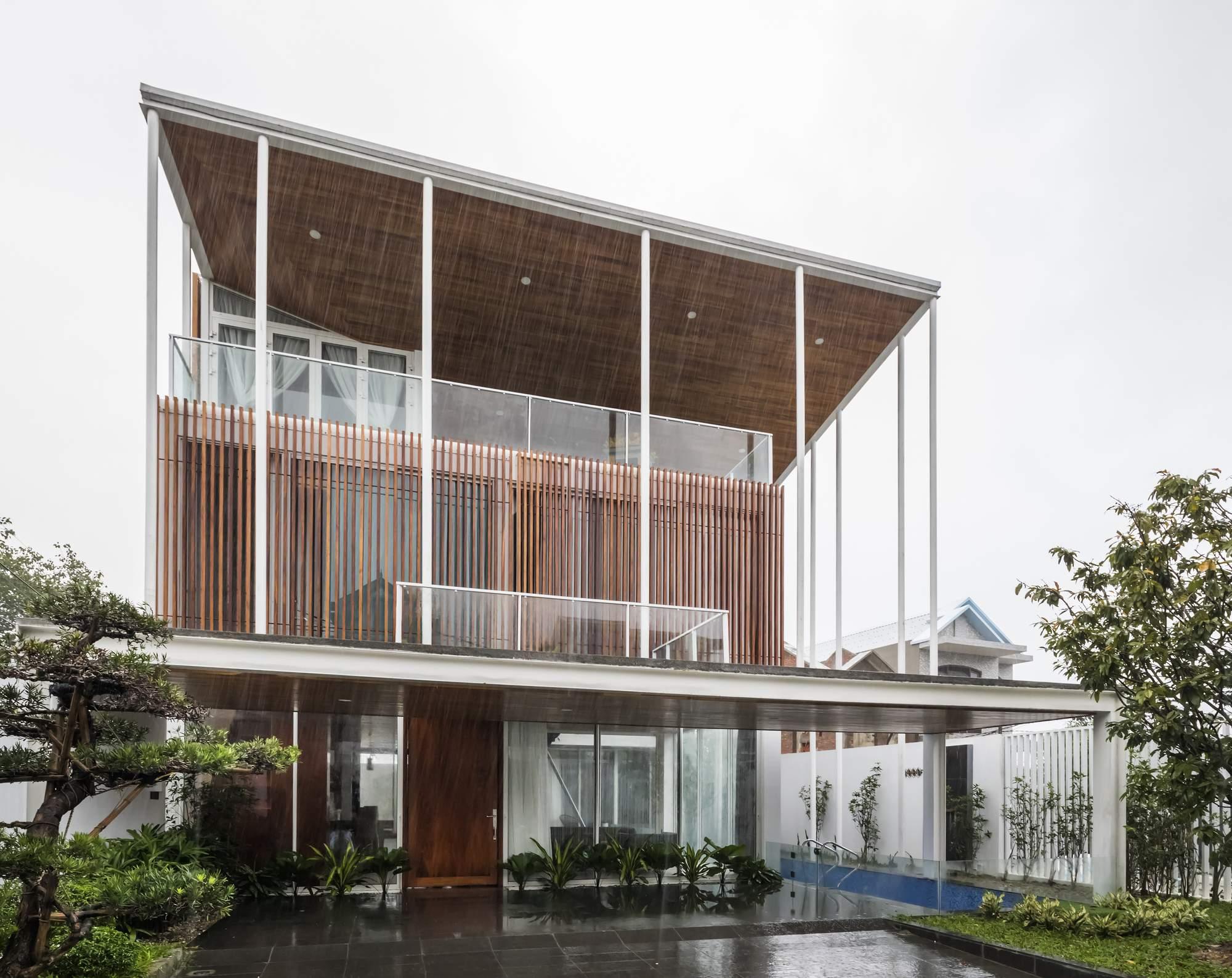 Семейный дом с внутренним садом, Вьетнам