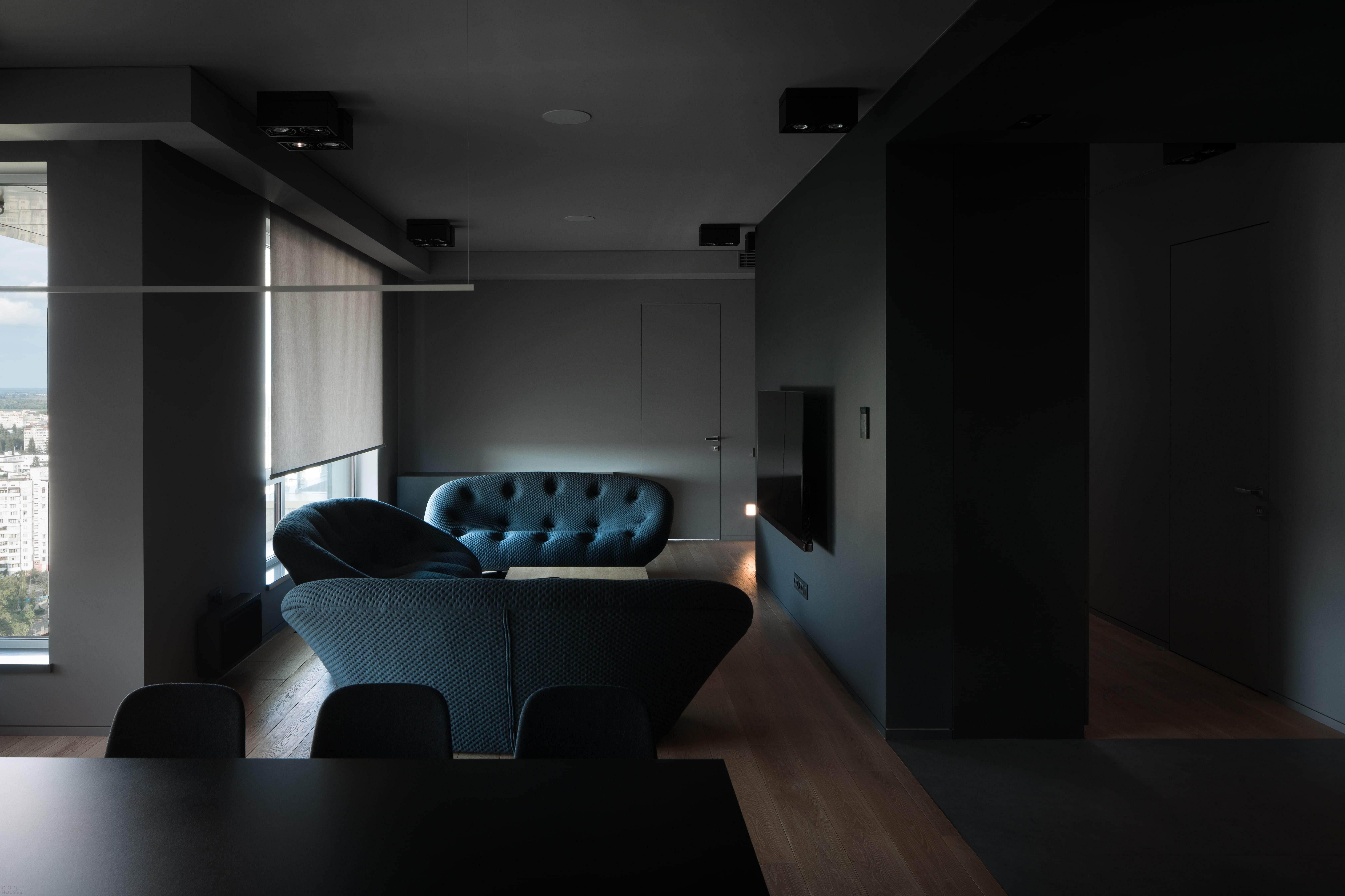 Современная квартира в стиле минимализма, Украина