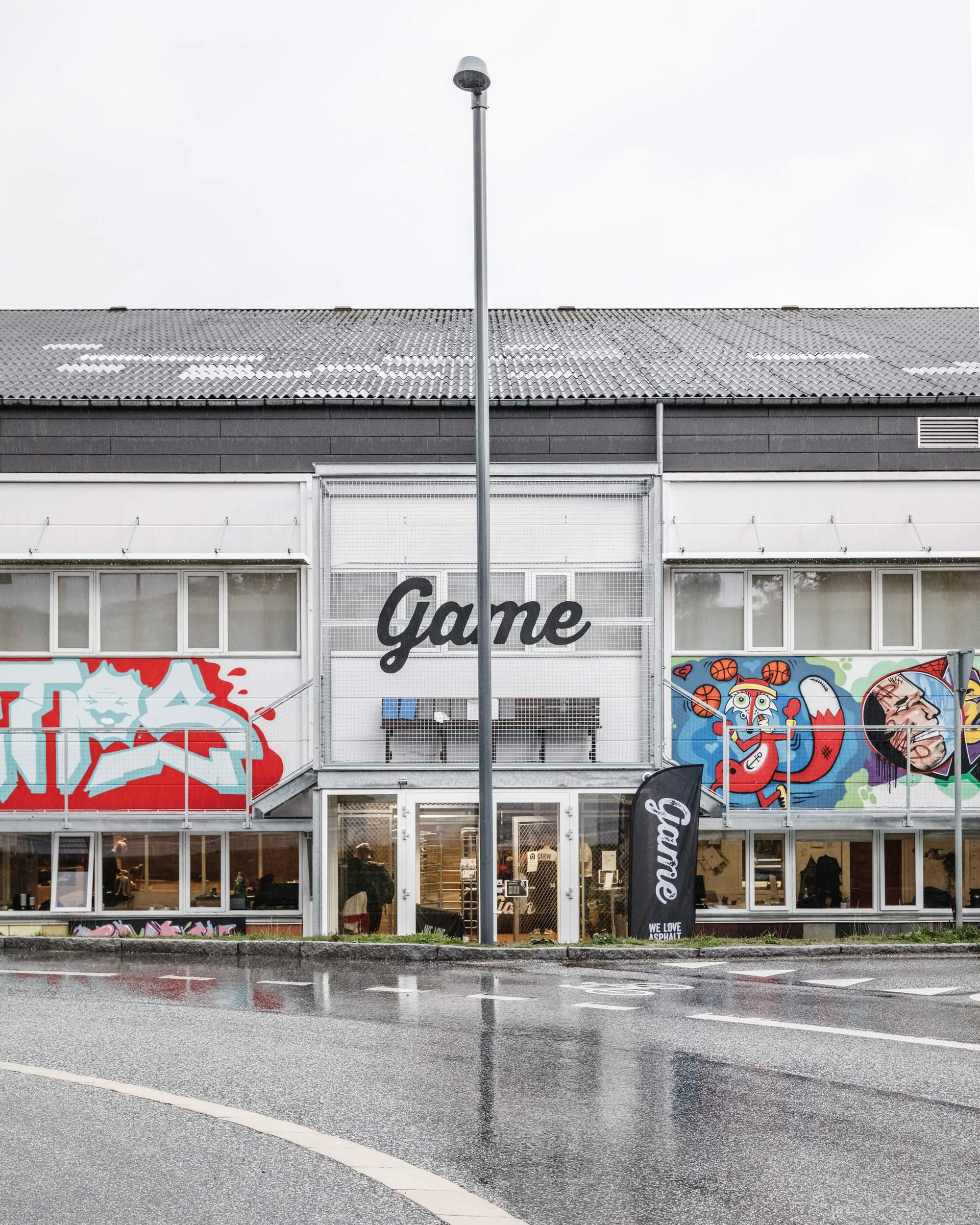 Трансформация старого завода в Центр уличного спорта, Дания