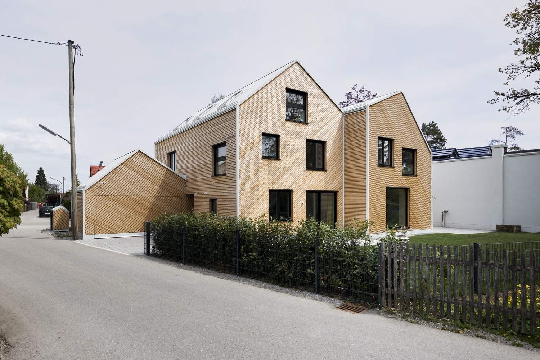 Деревянный дуплекс «Дом лисицы», Германия
