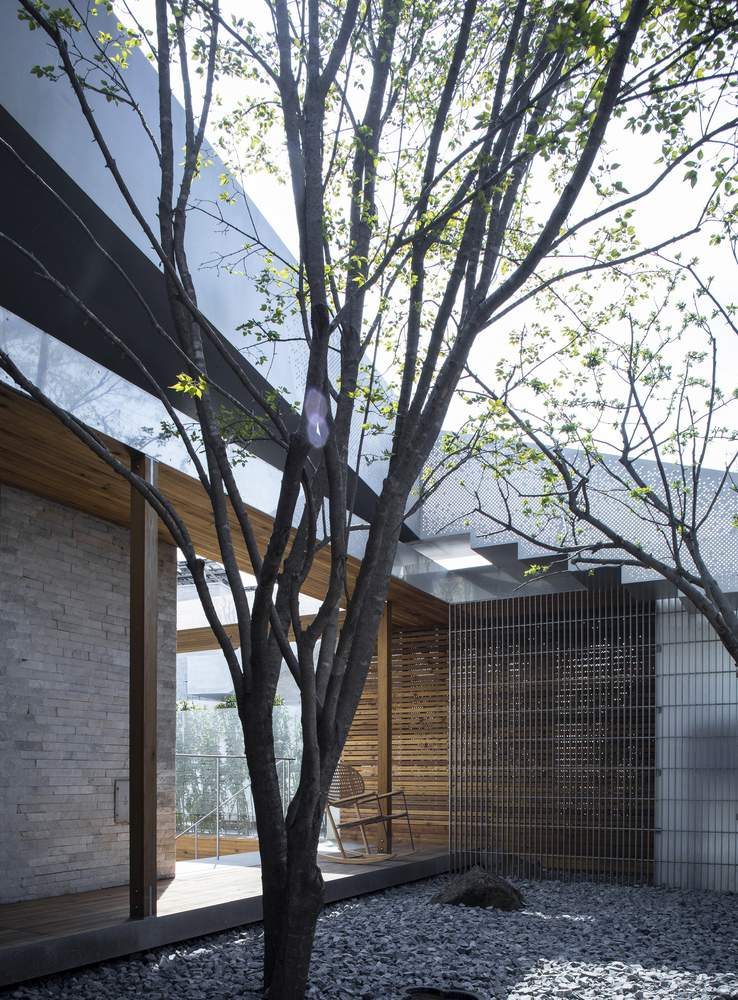 Дом с высокой степенью интеграции пространств, Китай