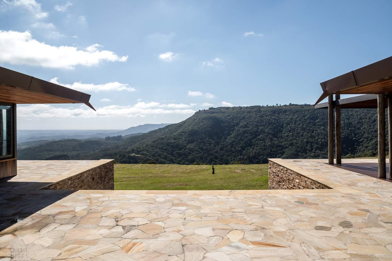Комфортный загородный дом в окружении впечатляющего ландшафта, Бразилия