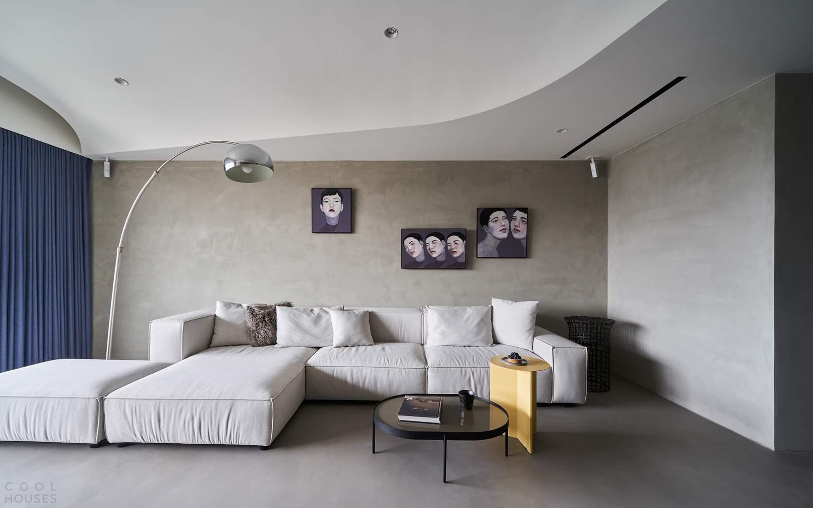 Мужская резиденция со строгой элегантной эстетикой, Тайвань