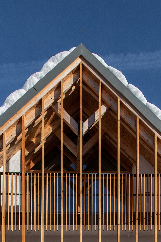 Альпийское словенское жилище в современной интерпретации