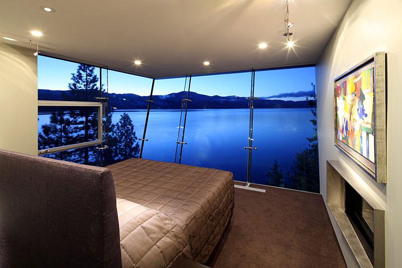 Эксцентричная вилла на берегу озера Тахо, США