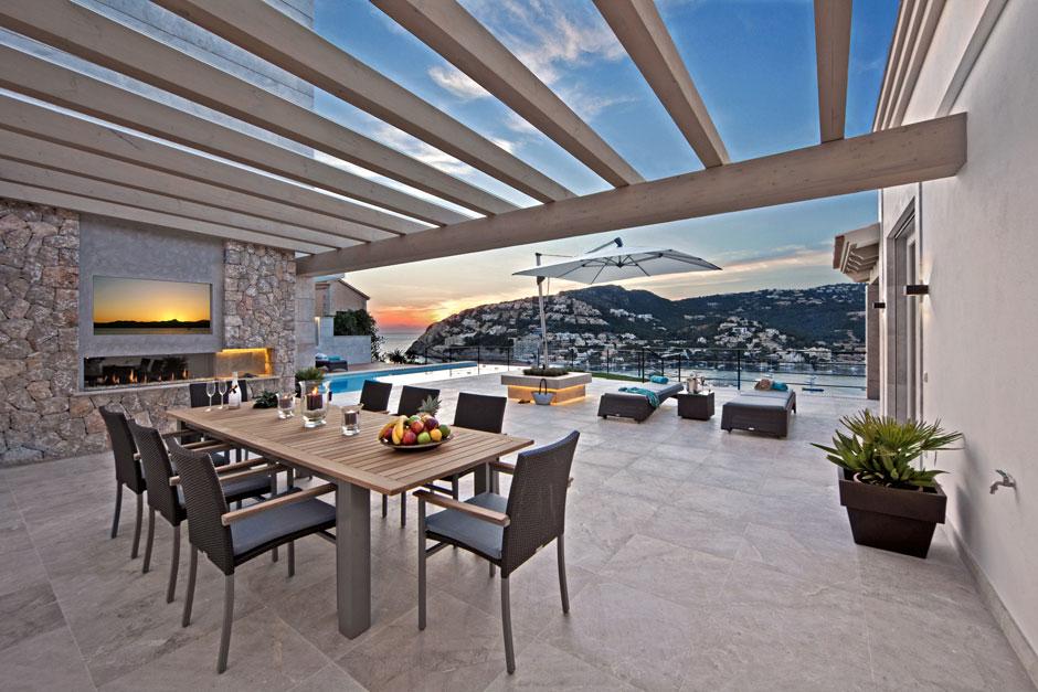 Фантастическая вилла на острове Майорка, Испания