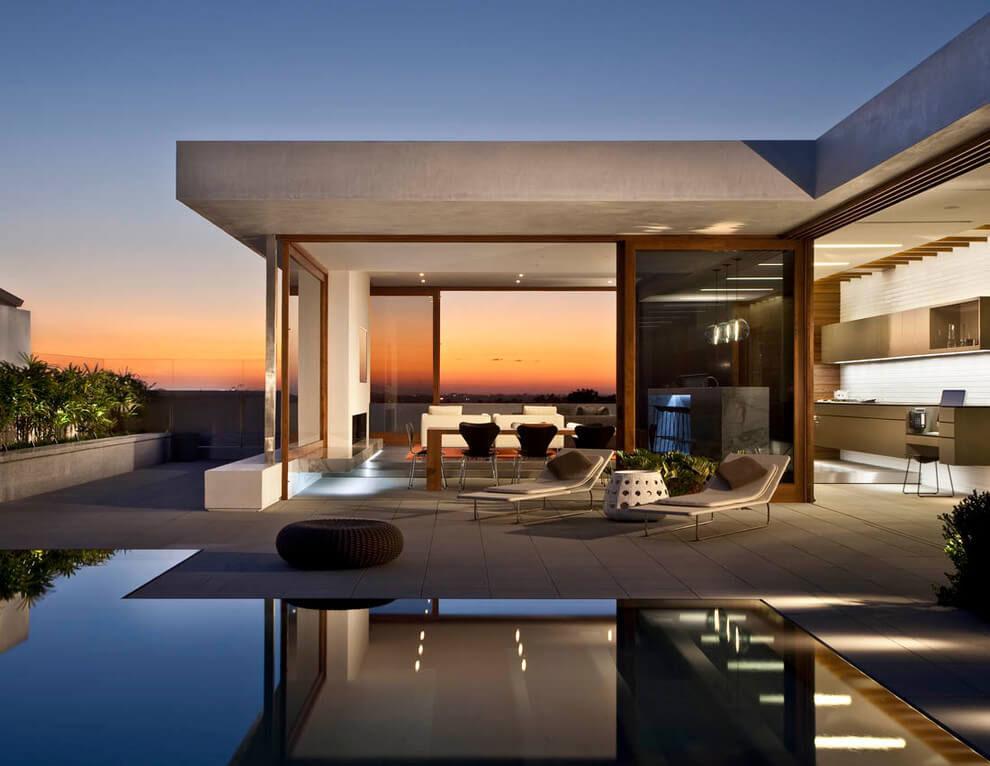 Роскошный семейный дом в Калифорнии