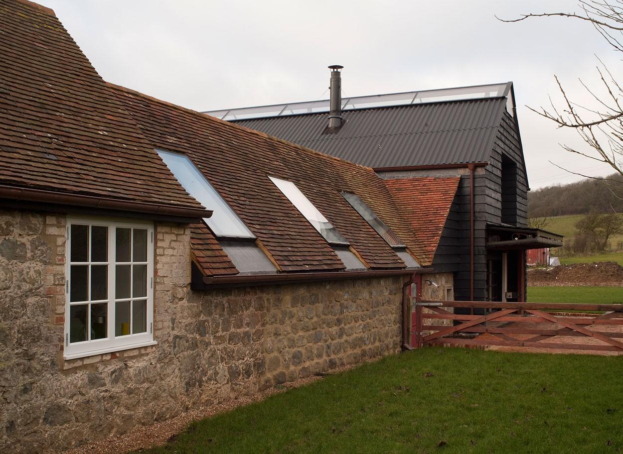 Загородный дом в старом амбаре, графство Кент, Англия