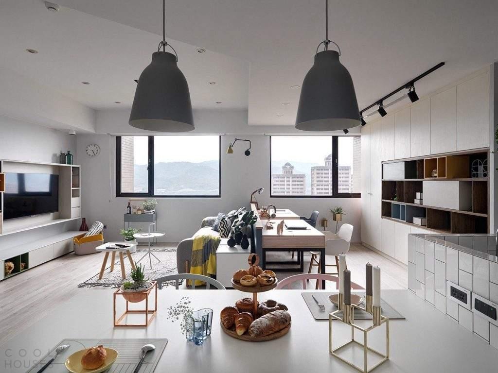 Апартаменты в скандинавском стиле в Тайване