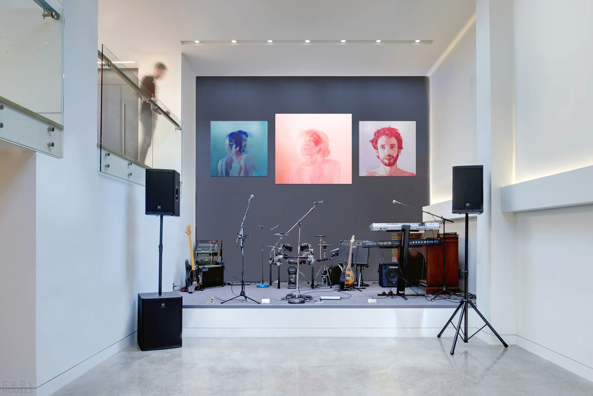 Дом музыканта в Торонто, Канада
