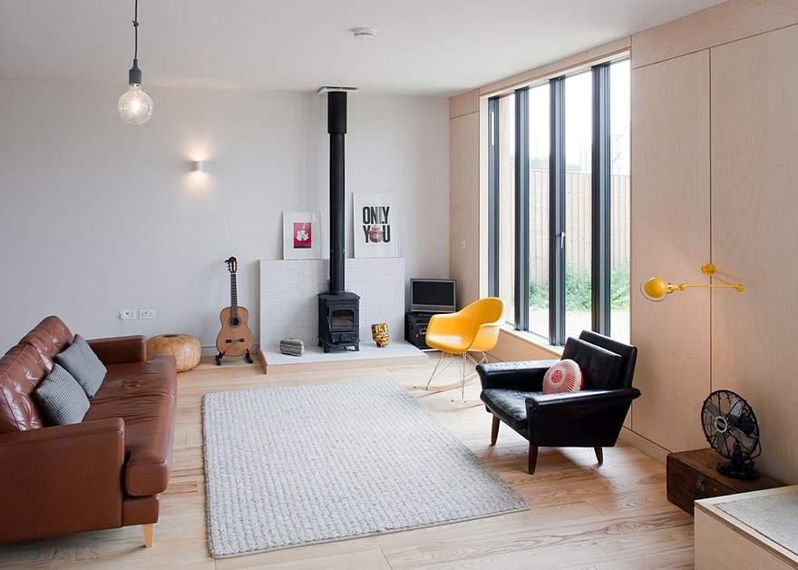 Дом с интерьером в скандинавском стиле в Великобритании