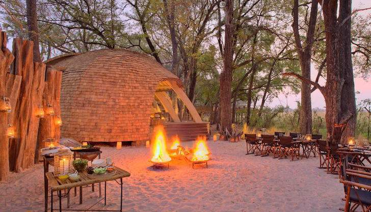 Эко-отель в африканской Ботсване
