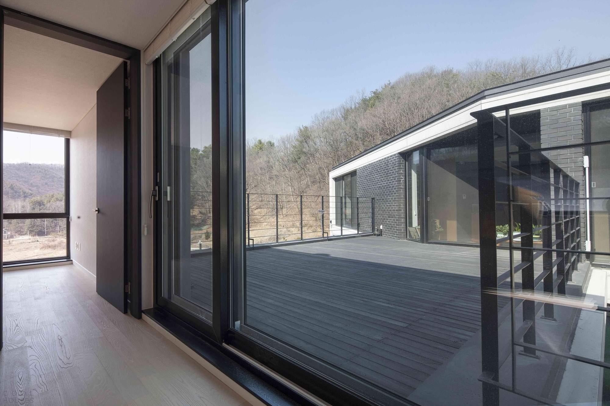 Красивый хай-тек дом в Южной Корее