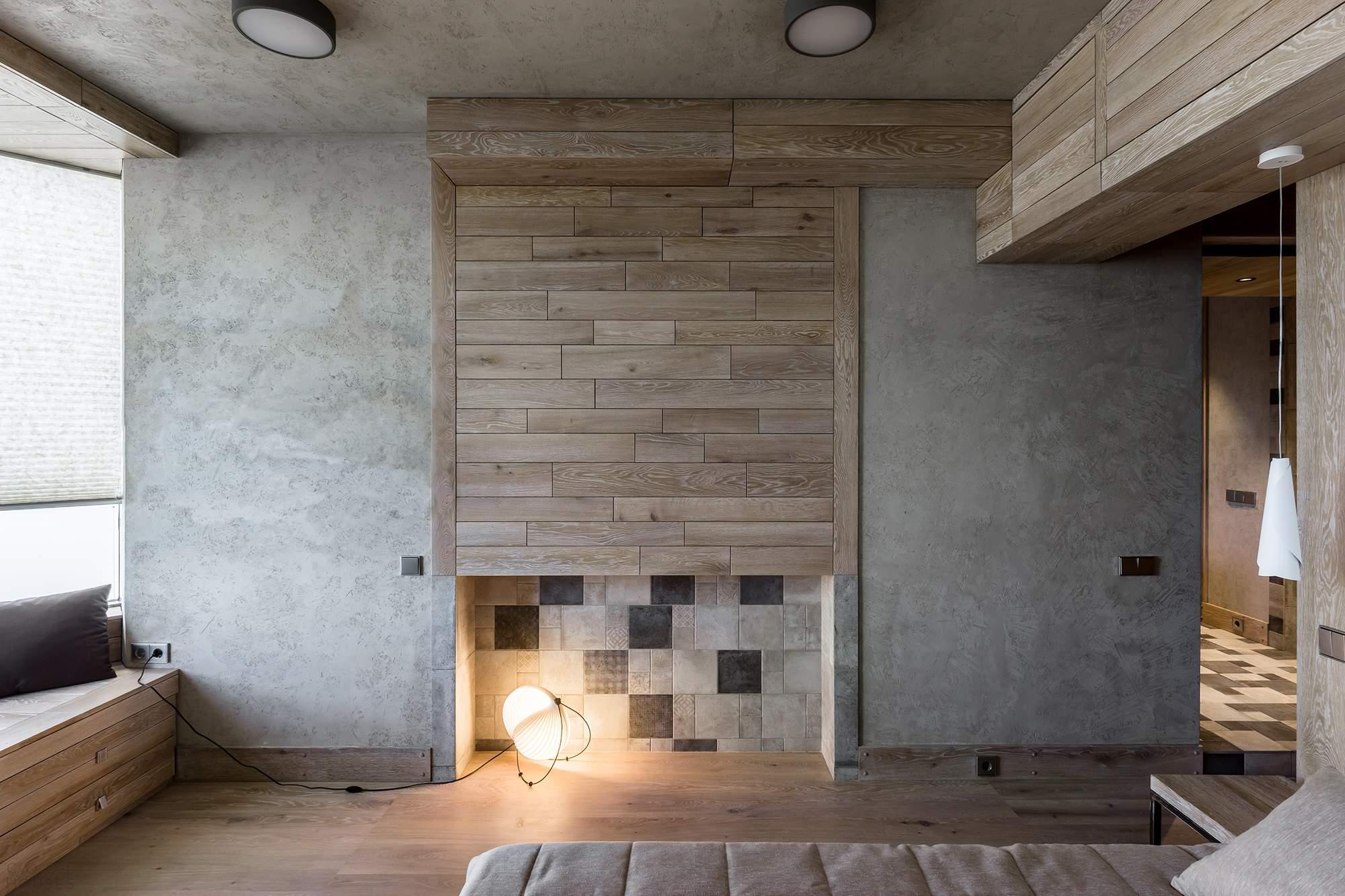 Оригинальный дизайн квартиры от Алексея Розенберга
