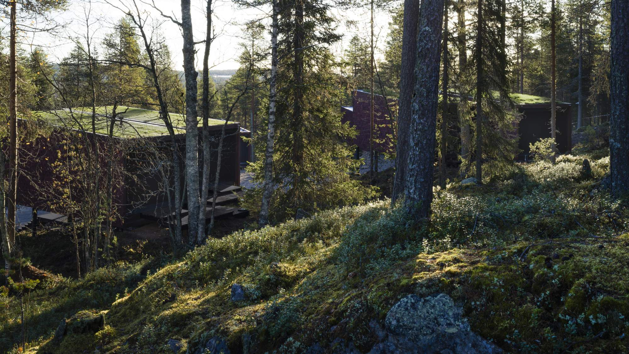 Отель в скандинавском стиле на территории Санта-Парка в Финляндии