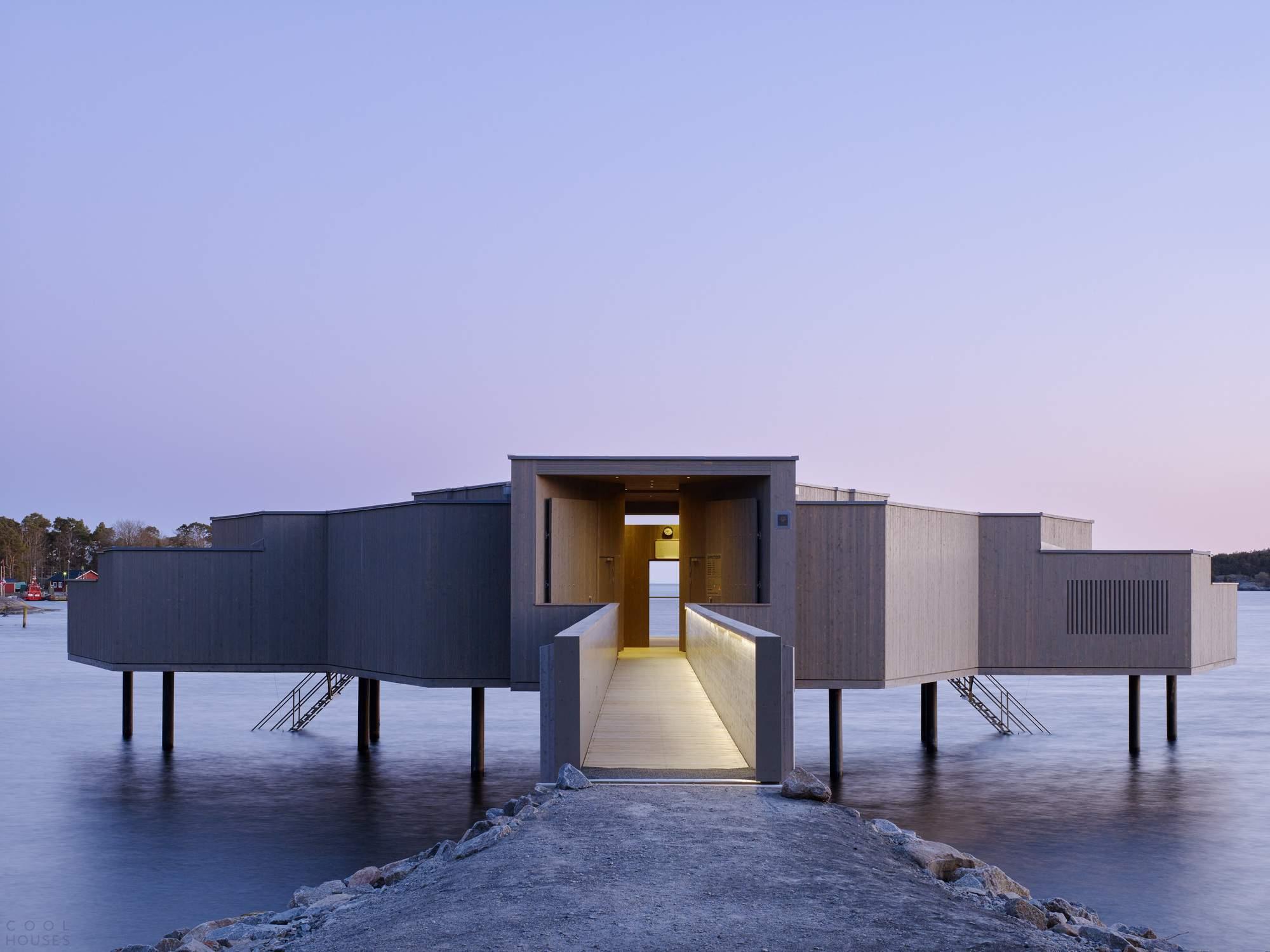 Современная «Холодная баня» в Швеции
