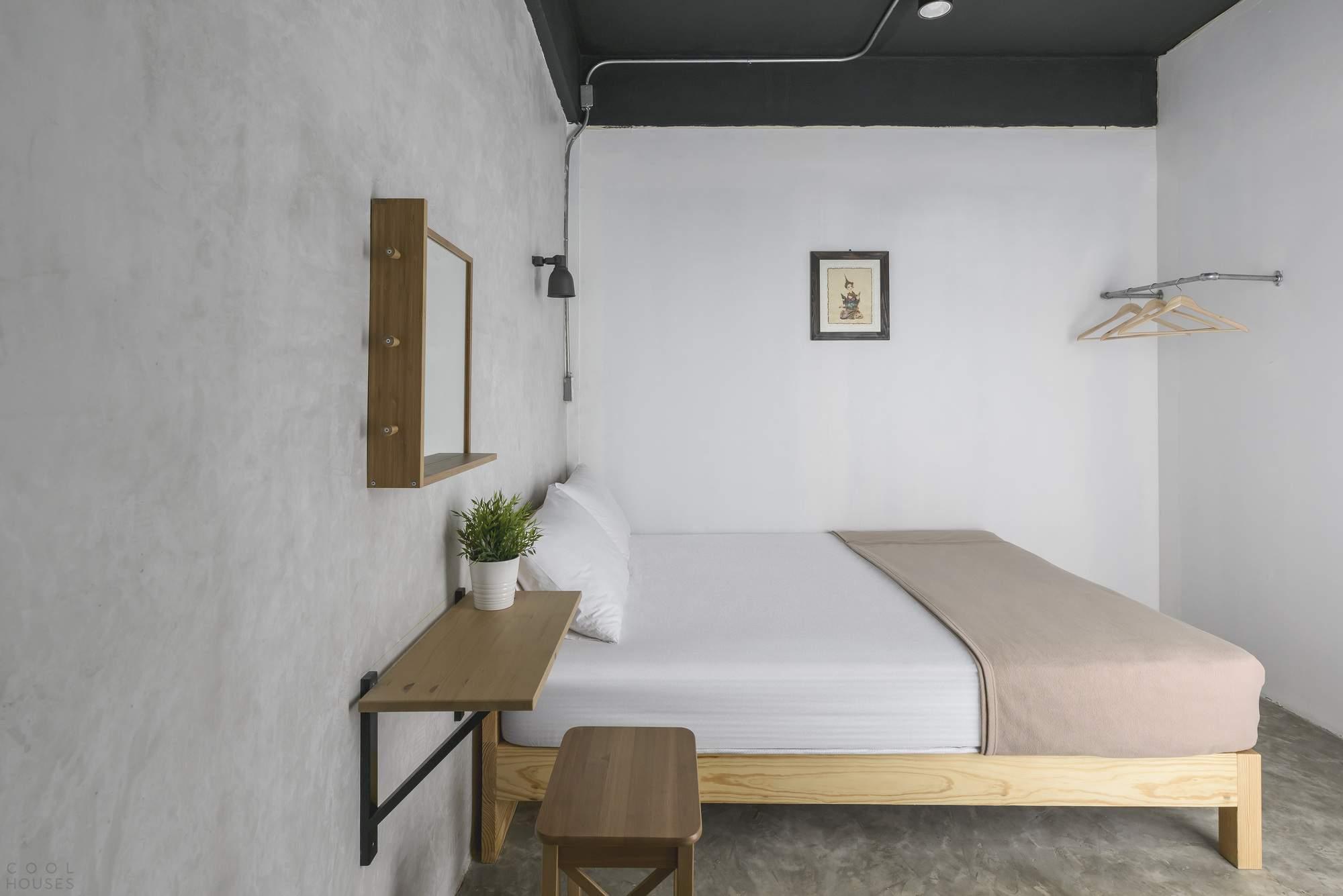 Современный хостел для путешественников в Бангкоке, Таиланд