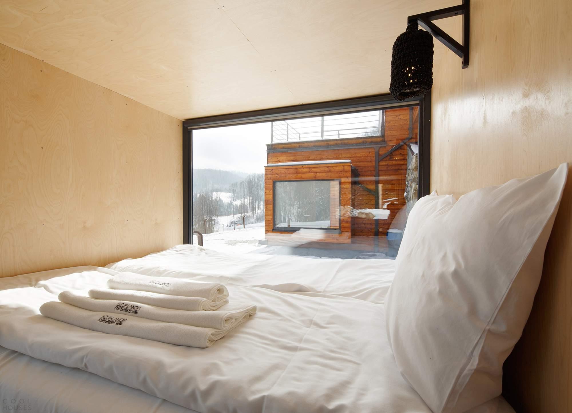 Апарт-отель Szuflandia в горах Польши