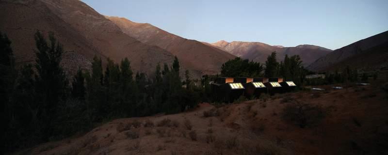 Астрономический отель Elqui Domos в Чили
