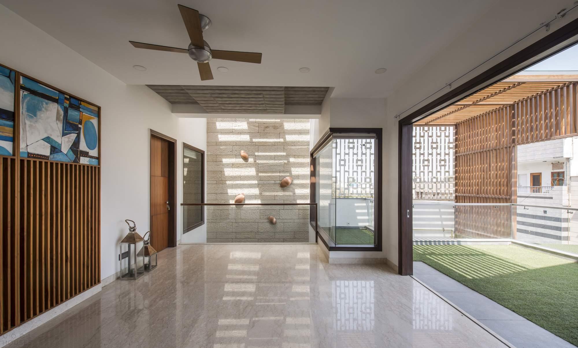 Дом для семейных выходных в Нью-Дели, Индия