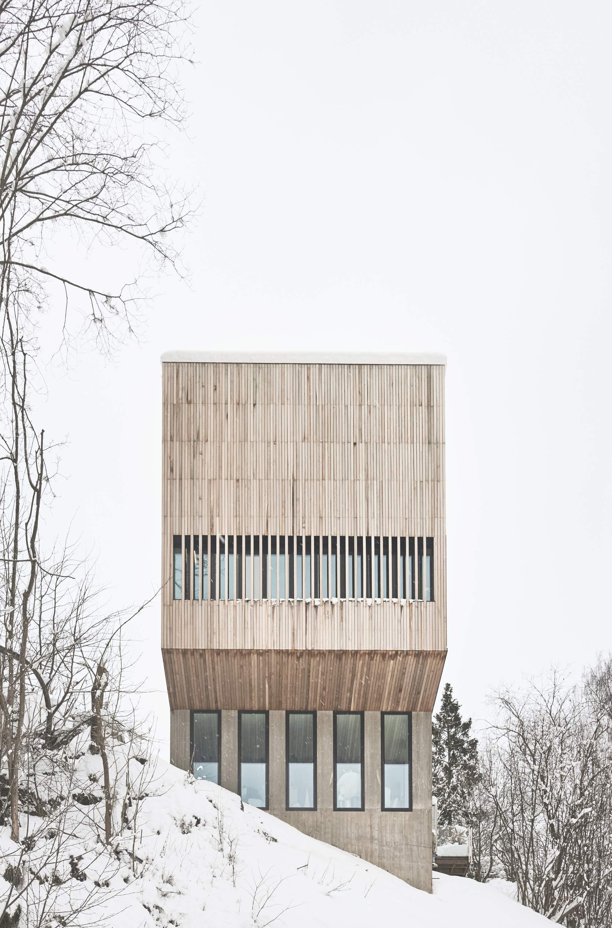 Дом «Два-в-одном» в Норвегии