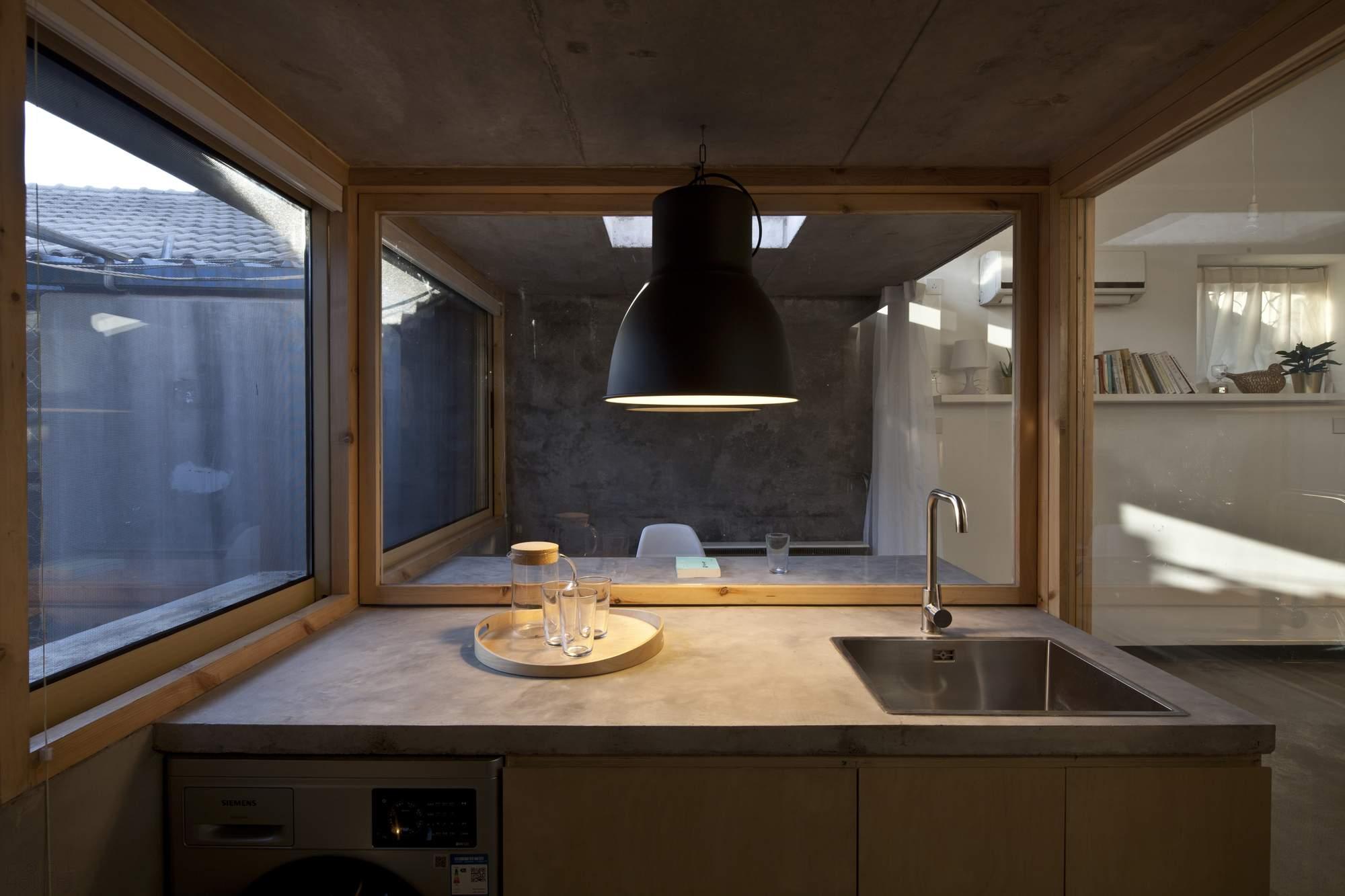 Реконструкция маленького дома в Пекине, Китай
